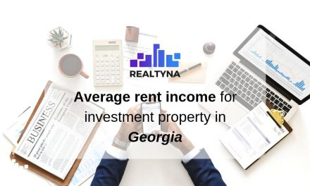Average Rent Income For Investment Property In Georgia