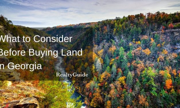 What to consider before buying land in Georgia